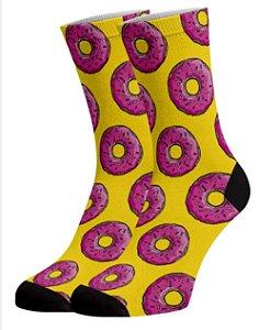 Donuts Meias Divertidas e Coloridas