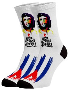 Che Cuba Meias divertidas e coloridas