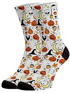 Halloween meias divertidas e coloridas