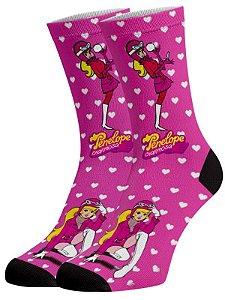 Penelope Charmosa meias divertidas e coloridas