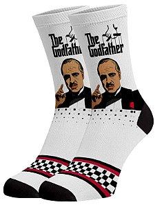 O Poderosos Chefão meias divertidas e coloridas