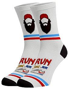 Forrest Gump meias divertidas e coloridas