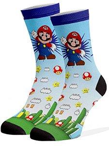 Meias Fun - Mario e Luigi