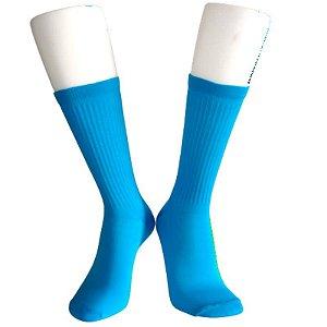 Meias Fun - Neon azul elenca