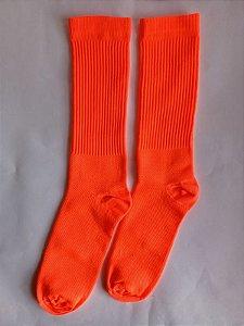 Meias Fun - Neon laranja elenca
