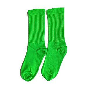 Meias Fun - Neon verde