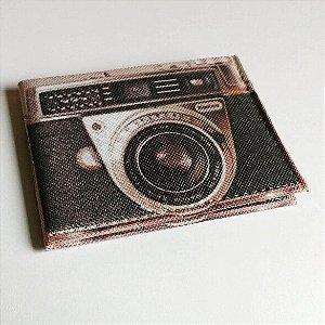 Carteira Fun máquina fotográfica
