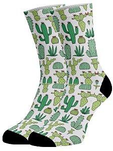 meias Fun - Cactos