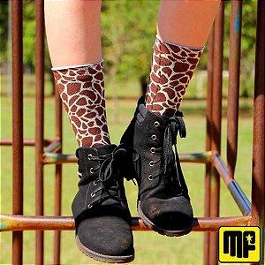 Meias Fun Girafa