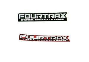 Adesivo Original Honda ''Fourtrax Fuel Injection''
