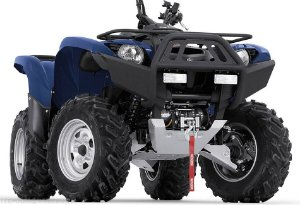 Parachoque Warn Quadriciclo Yamaha Grizzly 700