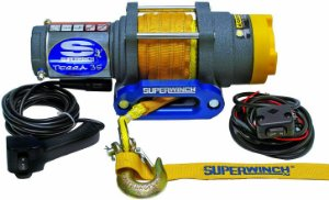 Guincho Elétrico para Quadriciclo - Superwinch TERRA 35SR 3.500lbs (Corda Sintética)