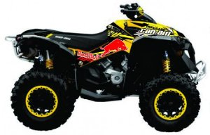 Kit Gráfico Can-am Renegade 500/1000 - RedBull
