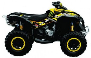Kit Gráfico Can-am Renegade 500/1000 - Monster