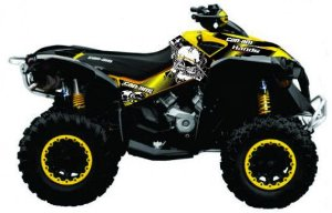 Kit Gráfico Can-am Renegade 500/1000 - Skull