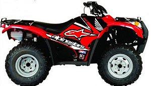 Kit Gráfico Honda Fourtrax 420 2007 até 2013 - Alpinestars