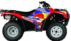 Kit Gráfico Honda Fourtrax 420 2007 até 2013 - RedBull GoPro