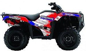 Kit Gráfico Honda Fourtrax 420 2014 até 2017 - Honda Racing