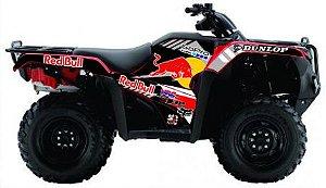 Kit Gráfico Honda Fourtrax 420 2014 até 2017 - RedBull GoPro