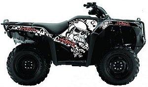 Kit Gráfico Honda Fourtrax 420 2014 até 2017 - Skull