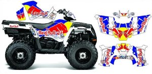 Kit Gráfico Polaris Sportsman 570 - RedBull