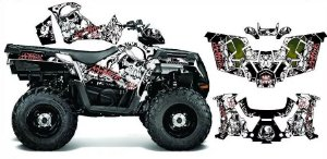 Kit Gráfico Polaris Sportsman 570 - Metal Mulisha