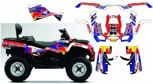 Kit Gráfico Can-am Outlander 400 Max - Redbull