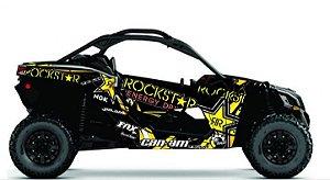 Kit Gráfico UTV Can-am Maverick X3 - Rockstar