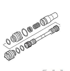 Eixo Árvore Conj. Transmissão Dianteira Honda Fourtrax 420 (2014 até 2019)