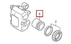 Pistão do Freio Dianteiro 32mm Honda Fourtrax 420 (2008 até 2018)