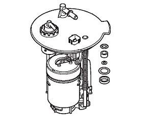 Filtro de Combustível Honda Fourtrax 420 (2014 até 2019)