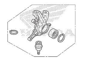 Kit Articulador Ponta do Eixo da Tração Dianteira Fourtrax 420 (2014 até 2019)