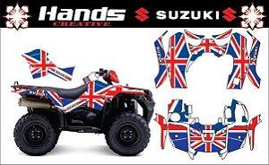 Kit Gráfico Suzuki Kingquad 750 - Austrália