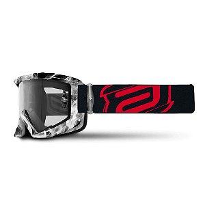 Óculos ASW A3 FOG Hard Enduro - Preto
