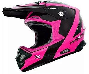 Capacete Feminino Mattos Racing- Pink