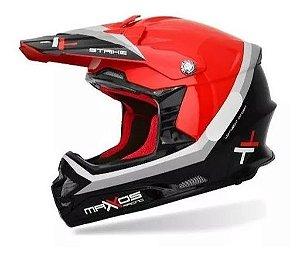 Capacete Mattos Racing-  Vermelho