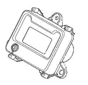 Instrumentos conj. (Painel digital) Fourtrax 420 (2014 até 2019)