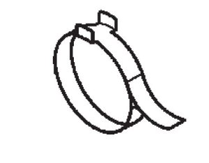 Presilha A da Coifa do garfo Honda Foutrax 420 (2008 até 2021)