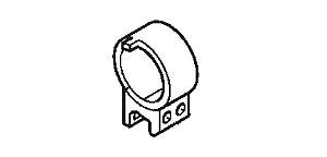 Abraçadeira do Tubo de Escapamento Honda Fourtrax 420 (2008 até 2013)
