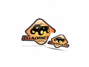 Adesivo Quadriciclo Brasil