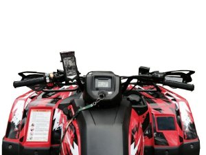 Capa Rígida de Iphone à prova d'água + Kit Suporte Quadriciclo - Go Adventure