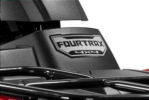Adesivo Original Honda ''Fourtrax 4x4'' Dianteiro (2014 até 2018)