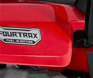 Adesivo Original Honda ''Fourtrax Fuel Injection'' Traseira (2014 até 2017)