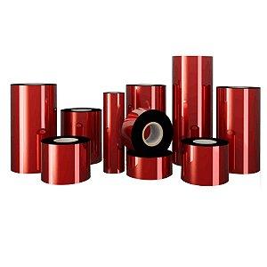 Ribbon Premium Cera G50 Preto 110mm x 74m - Caixa com 24 Unidades