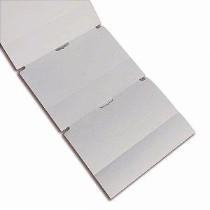 Etiqueta TAG , Cartão, 50x75mm com 02 Colunas e Picote, p/ Roupa, Confecção, Artesanato, Artigo Textil e Outros.