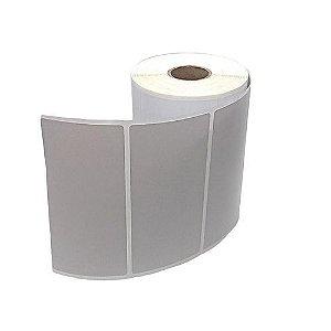 Etiqueta Adesiva Couche 100x50mm Branca 1 coluna