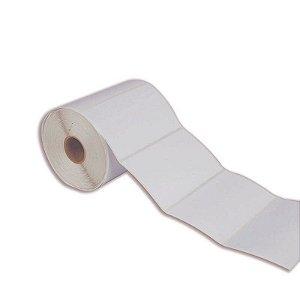 Etiqueta Adesiva Couche 100x70mm Branca 1 coluna
