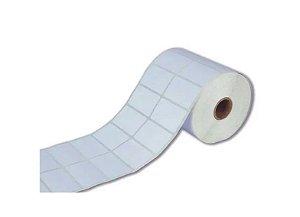 Etiqueta Adesiva Couche 50x30mm Branca 2 colunas - Rolo com 1.930 unidades