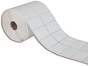 Etiqueta Adesiva BOPP 50x30 mm Branca 2 colunas