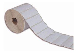 Etiqueta Adesiva BOPP 70x40 mm Branca
